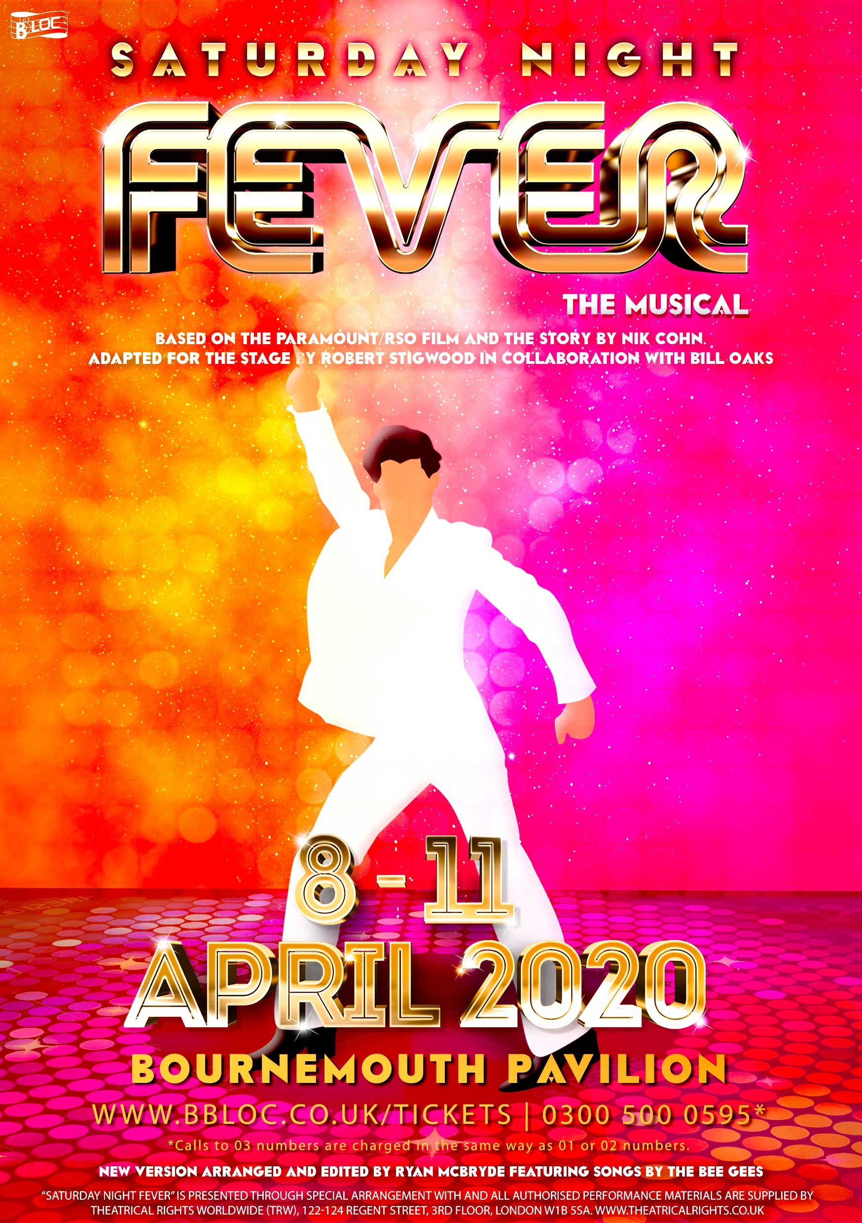 CANCELLED Saturday Night Fever